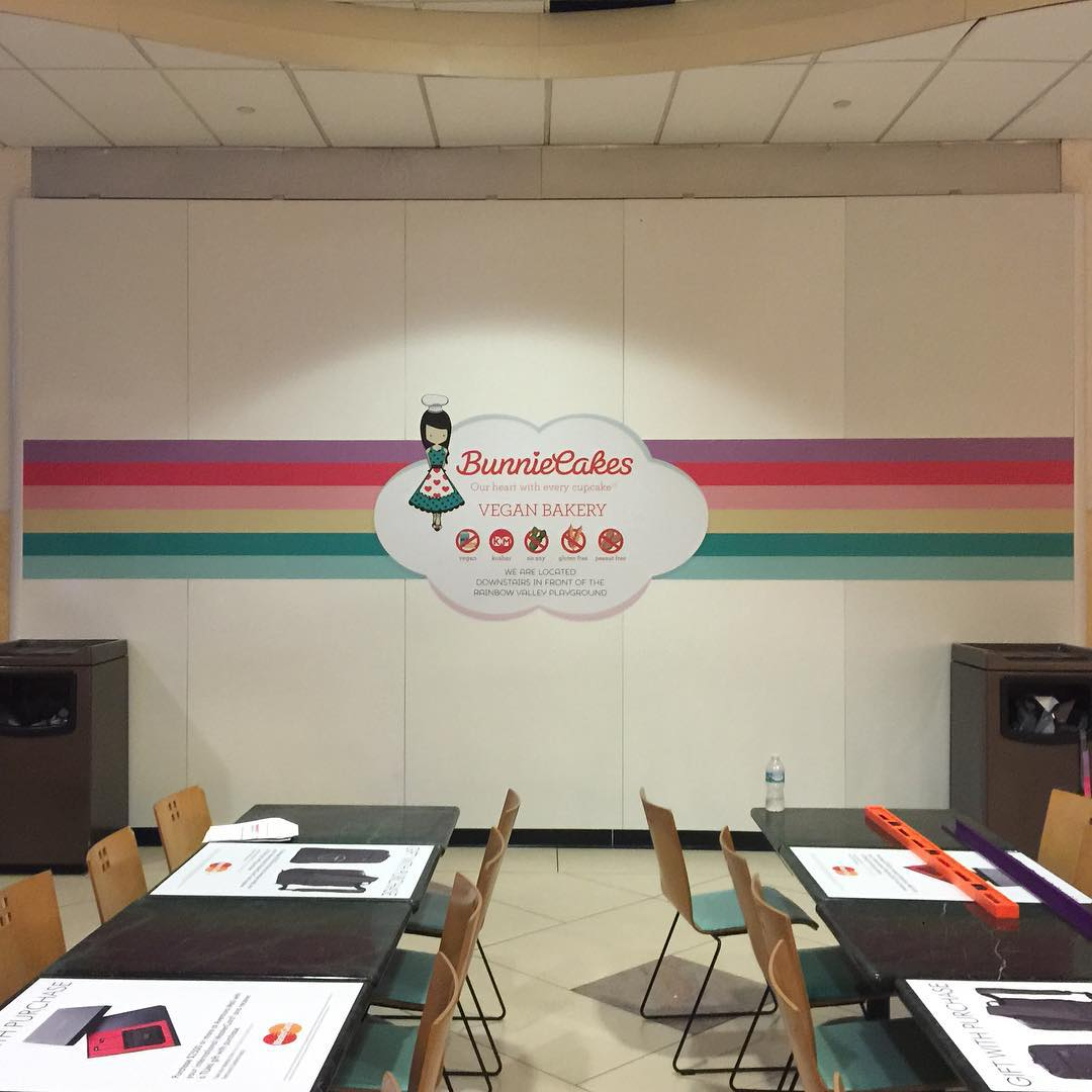 Bunnie Cakes Wall Mural from Binick Imaging