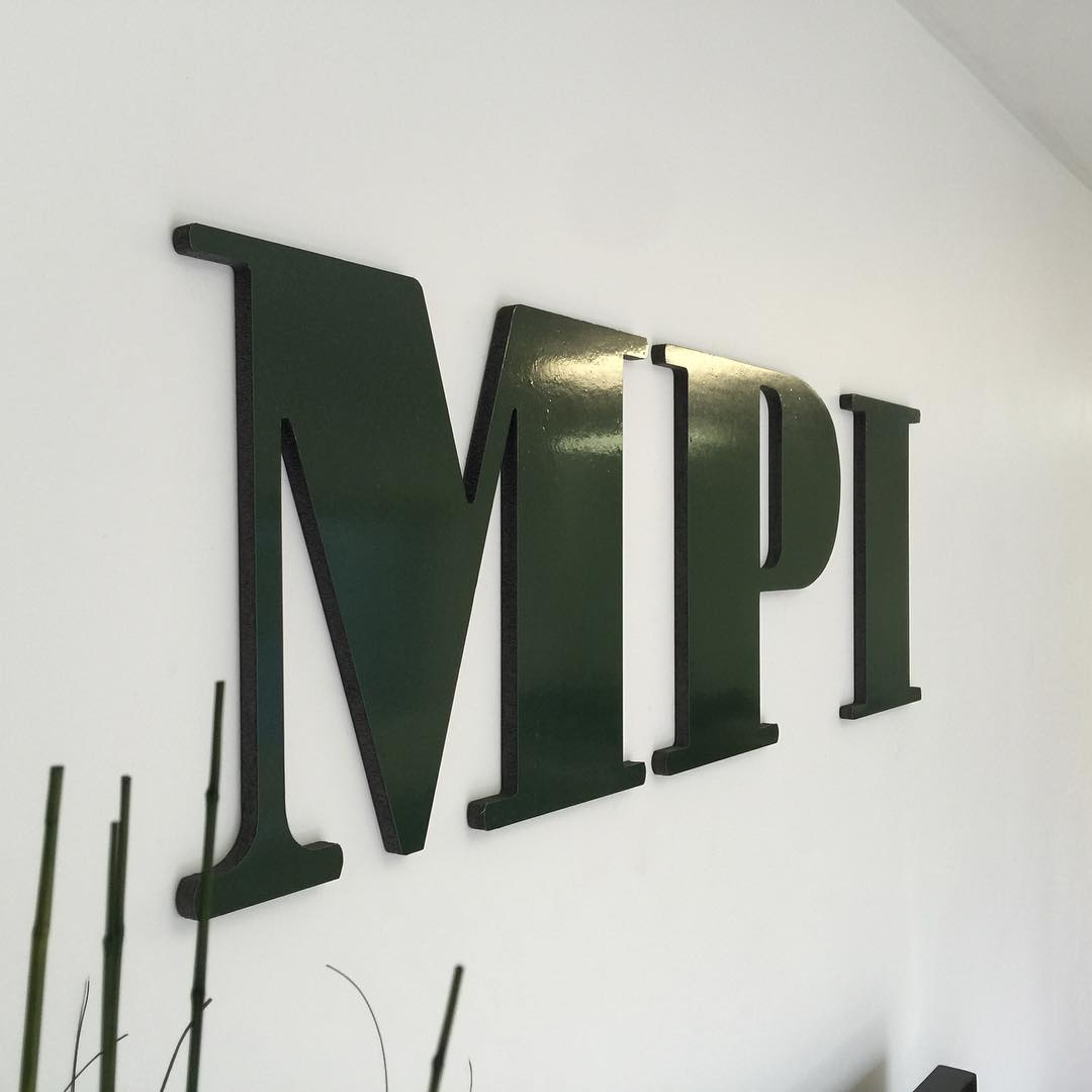 MPI Dimensional Letters from Binick Imaging in Miami