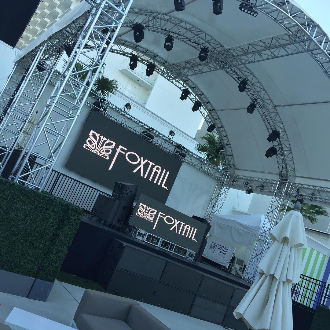Foxtail Event Graphics from Binick Imaging in Miami