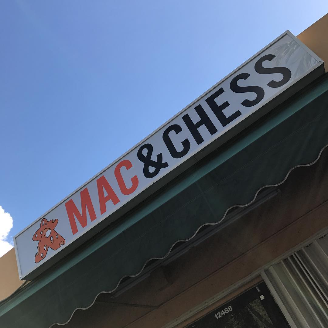 Mac & Chess Outdoor Sign from Binick Imaging
