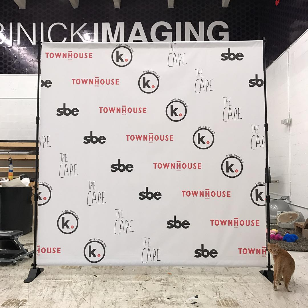 Step and Repeat Design from Binick Imaging in Miami