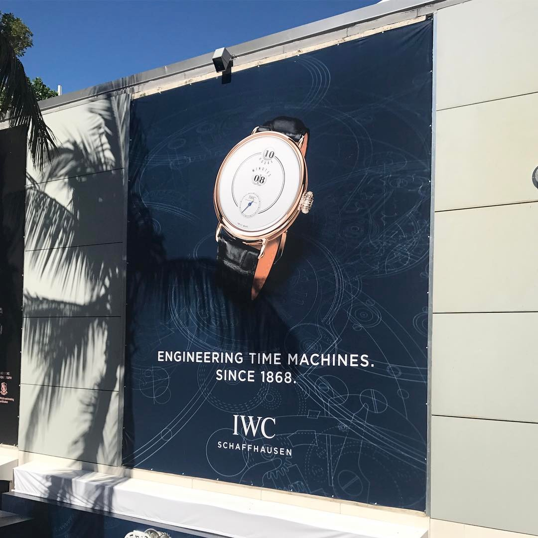 IWC Schaffhausen Outdoor Billboard from Binick Imaging in Miami