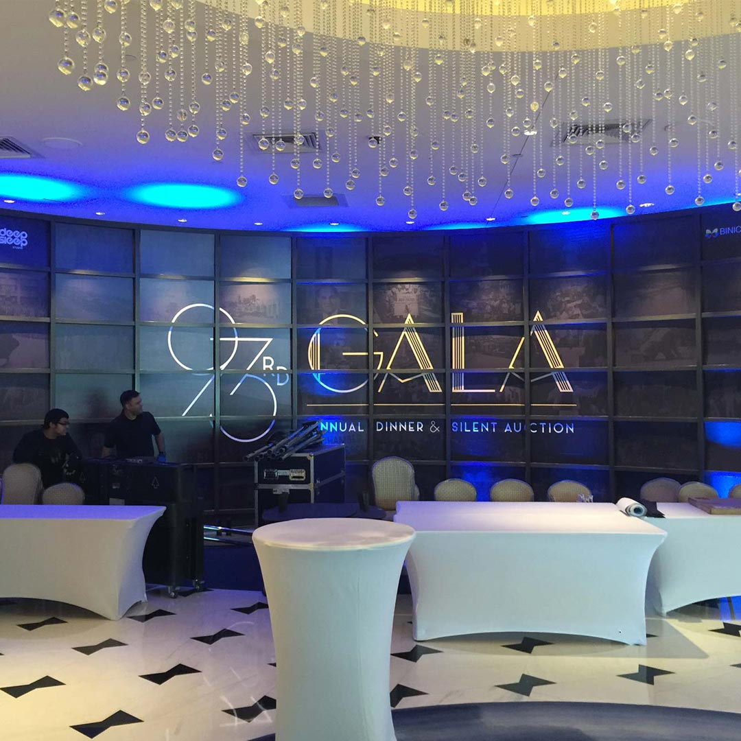Miami Chamber 93rd Gala Event Graphics from Binick Imaging