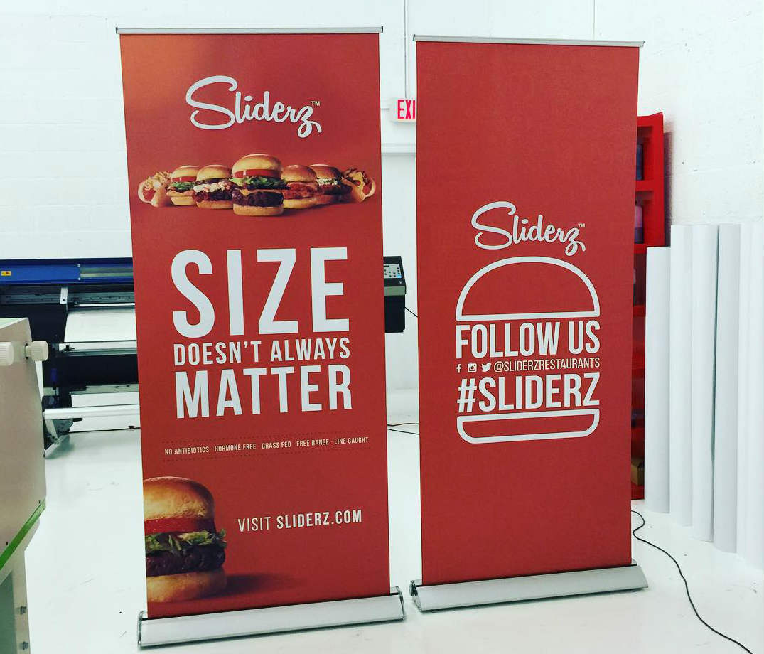 Sliderz™ Trade Show Display from Binick Imaging in Miami