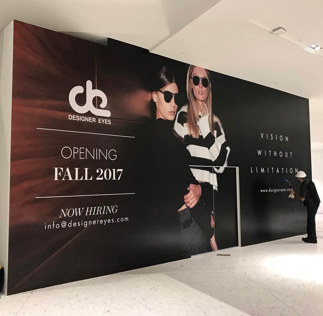 Designer Eyes Barricade Graphics from Binick Imaging in Miami
