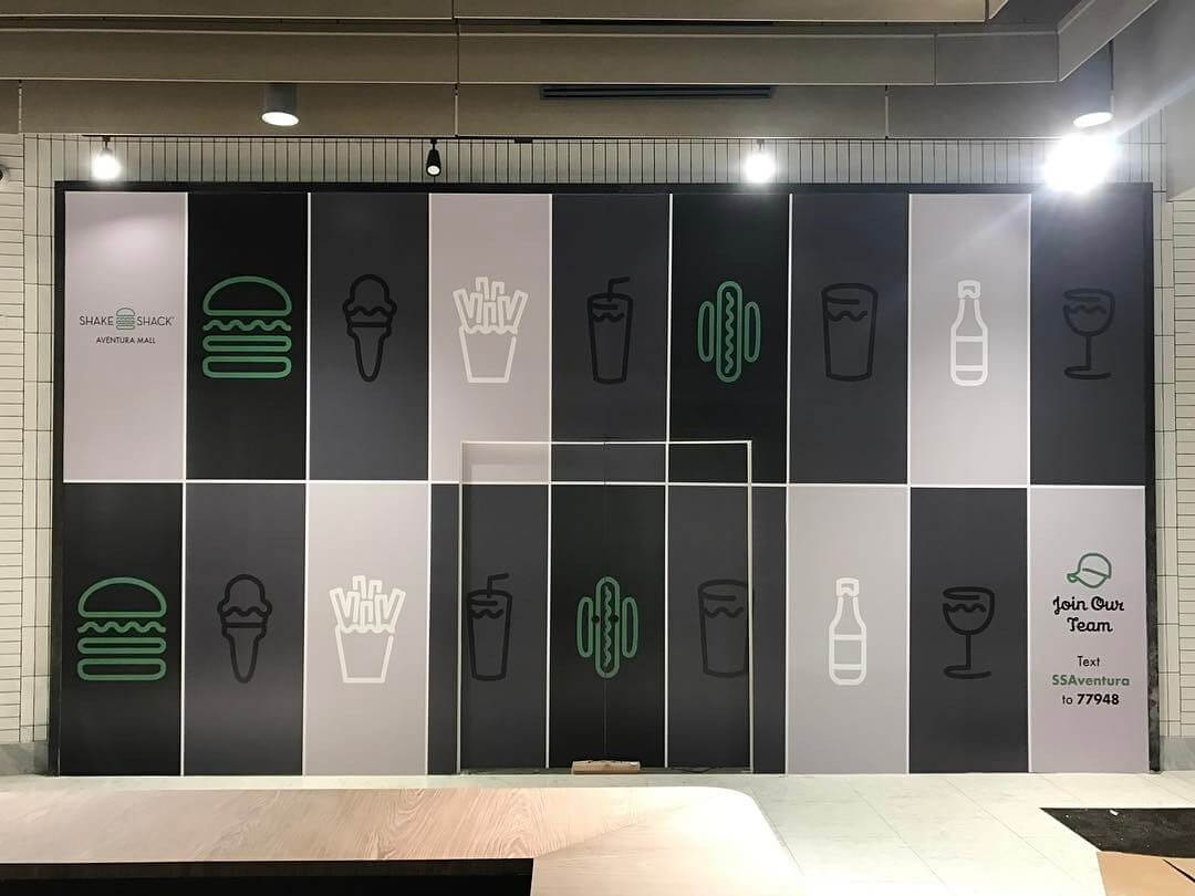 Shake Shack Barricade Graphics from Binick Imaging