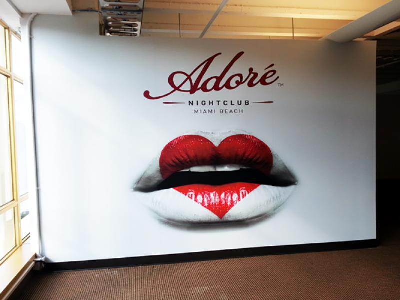 Adore Wall Wrap Miami