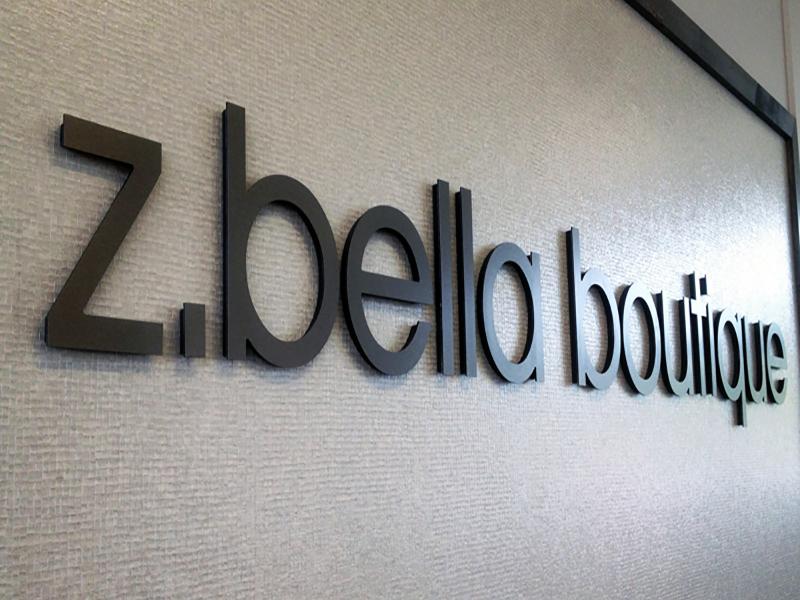 Z. bello boutique Dimensional Letters