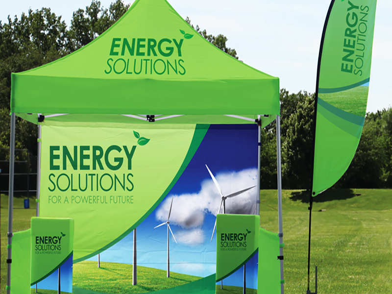 Trade Show Tent Display