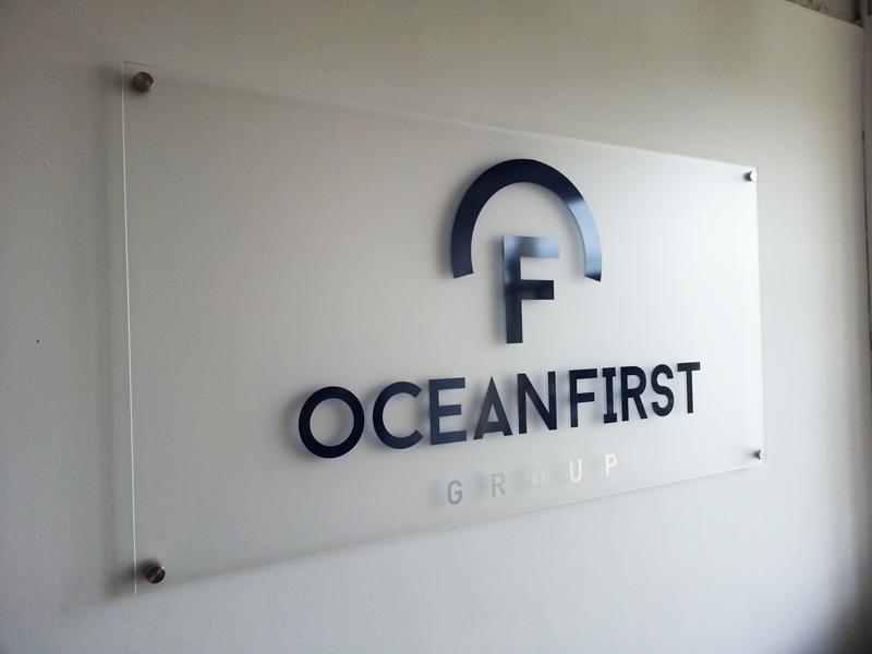 Ocean First Sign