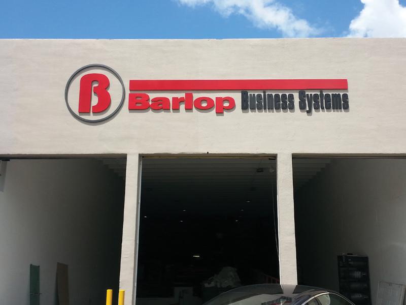 Barlop Dimensional Letters