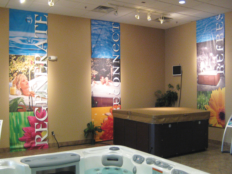 Show Room Banners