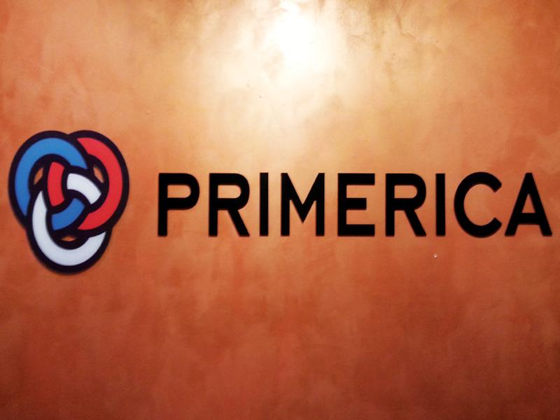 Primerica Sign Letters