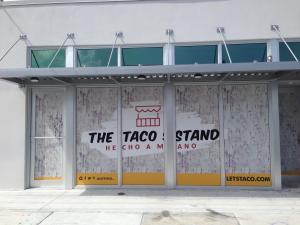 Window Graphics in Miami